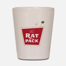 The Rat Pack: drink1 Shot Glass