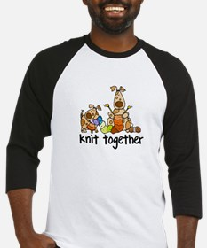 Knit together II Baseball Jersey