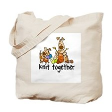 Knit together II Tote Bag