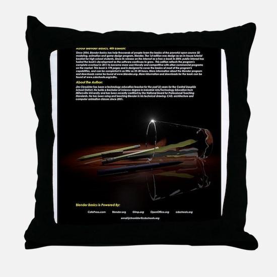 BlenderBasics4BackCover Throw Pillow