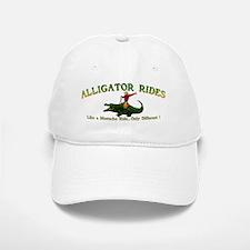ALLIGATOR RIDES_5x2_apparel Baseball Baseball Cap