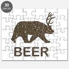 Beer Bear Deer Puzzle