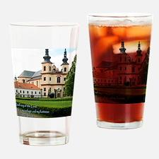 Psalm 91-2 Czech Church Drinking Glass