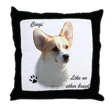 Corgi Breed Throw Pillow