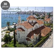 Psalm 113-3 Albanian Church Puzzle