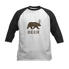 Beer Bear Deer Baseball Jersey