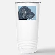 Black lab4x6 Travel Mug
