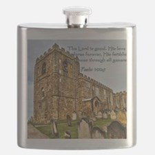 Psalm 100-5 Old Stone Church Flask