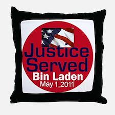 Bin Laden Throw Pillow
