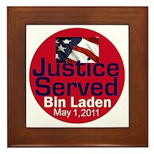 Bin Laden Framed Tile