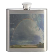 Psalm 128-5 Full Rainbow Flask