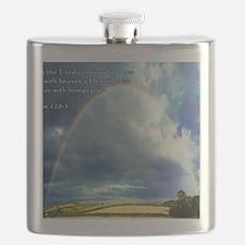 Psalm 128-5 Full Rainbow Flask