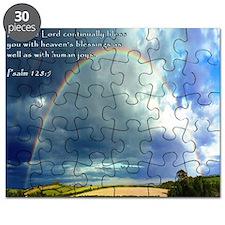 Psalm 128-5 Full Rainbow Puzzle