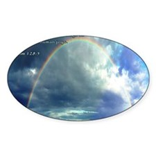 Psalm 128-5 Full Rainbow Decal