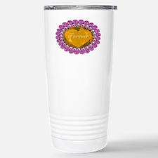 Forever_heart_broach_goldensapp Travel Mug