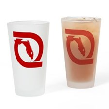 FECred Drinking Glass