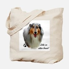 Collie Breed Tote Bag