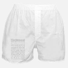 MontessoriQuotes Boxer Shorts