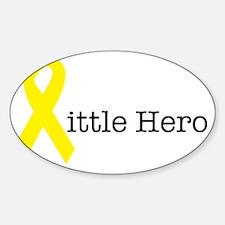 littlehero Sticker (Oval)