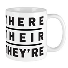 There / Their / Theyre - Grammar Mugs