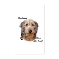 Dachshund Breed Rectangle Decal