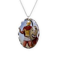leonidas v1 corintian helmet Necklace