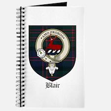 Blair Clan Crest Tartan Journal