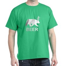 Beer Bear Deer T-Shirt