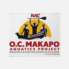 MakapoLogo3000px Throw Blanket