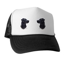 Black Lab Mug 4 Trucker Hat