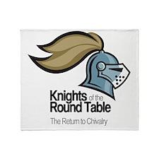 knights-logo-shirt-BLACK Throw Blanket