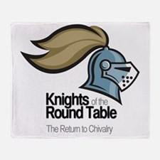 knights-logo-shirt-BLACK Throw Blanket