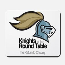 knights-logo-shirt-BLACK Mousepad