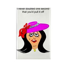 funny encouragement Rectangle Magnet