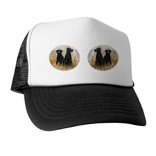 Blacl Lab Mug Trucker Hat