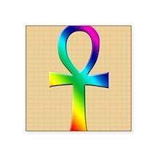 "AnkhRainBLN Square Sticker 3"" x 3"""