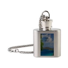St Johns2.34x3.2 Flask Necklace