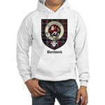 Borthwick Clan Crest Tartan Hooded Sweatshirt