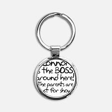 boss_connor Round Keychain