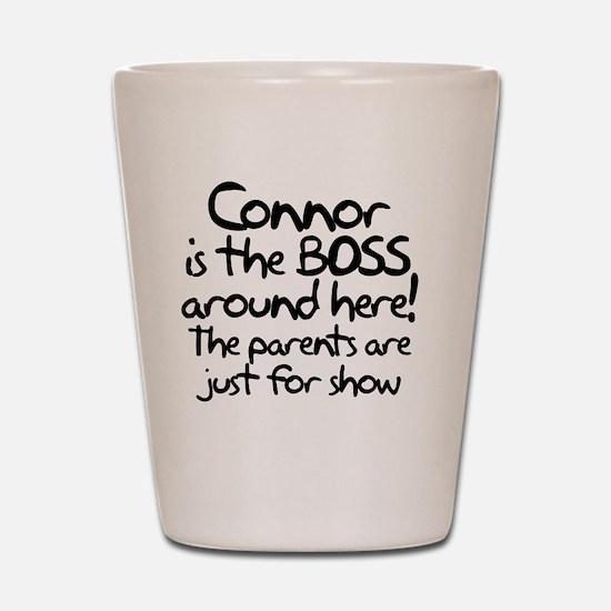 boss_connor Shot Glass