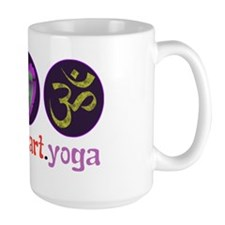 peace_heart_yoga Mug