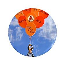 "Help Solve the Mystery CRPS RSD Balloo 3.5"" Button"