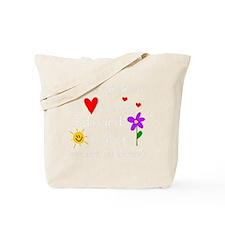 Shh Grandma -dk B Tote Bag