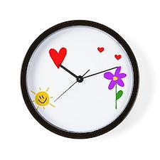 Shh Grandma -dk B Wall Clock