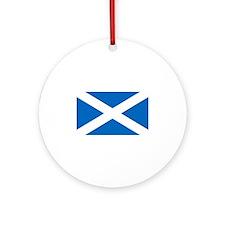 Scotland-DARK Round Ornament