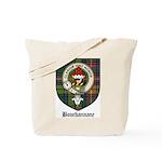 Bouchannane Clan Crest Tartan Tote Bag