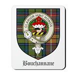 Bouchannane Clan Crest Tartan Mousepad