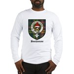 Bouchannane Clan Crest Tartan Long Sleeve T-Shirt