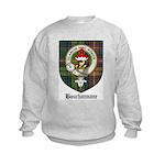 Bouchannane Clan Crest Tartan Kids Sweatshirt