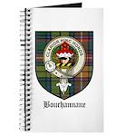 Bouchannane Clan Crest Tartan Journal
